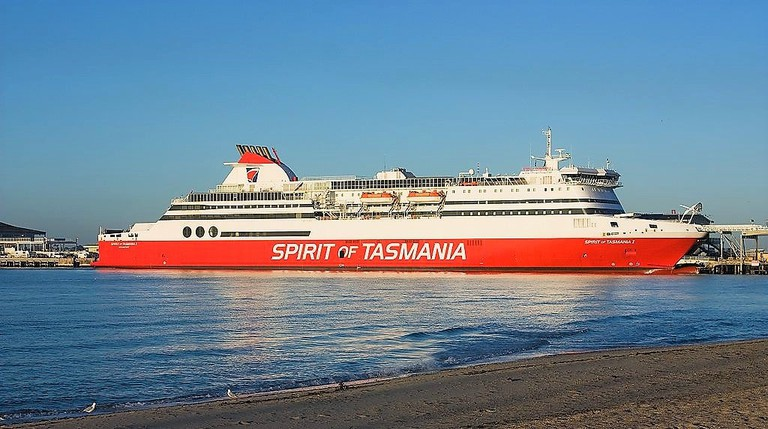 Spirit of Tasmania Port Melbourne
