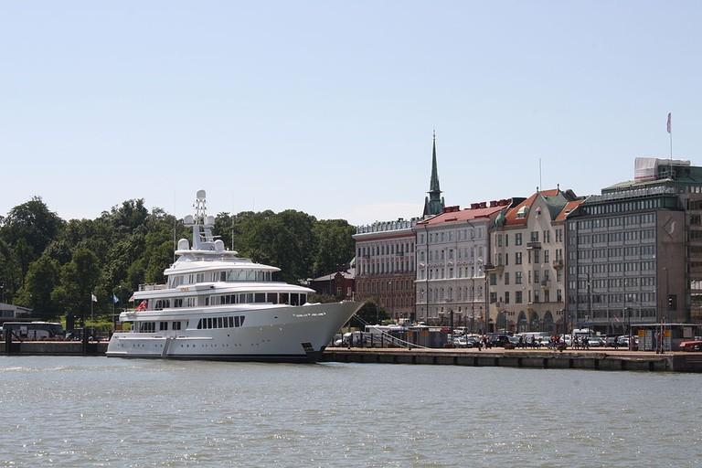 Helsinki south harbour, 2011