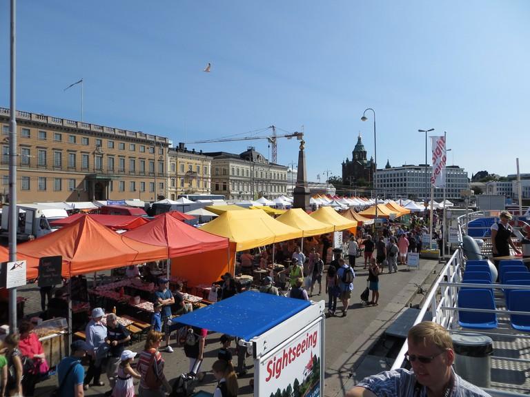 Helsinki market square, 2013