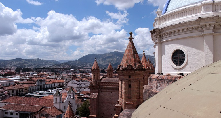 View From the New Cathedral, Cuenca, Ecuador