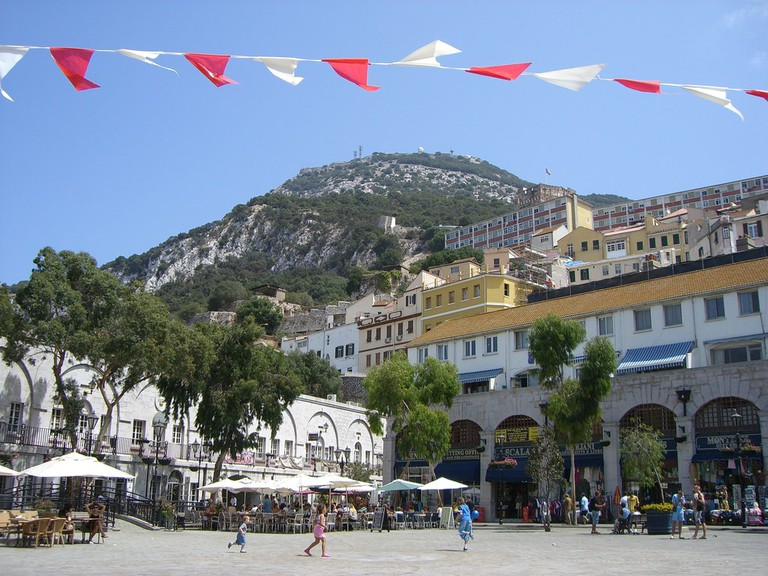 Casemates Square, the perfect place for a pint of ale in the sun; Clare Wilkinson, flickr
