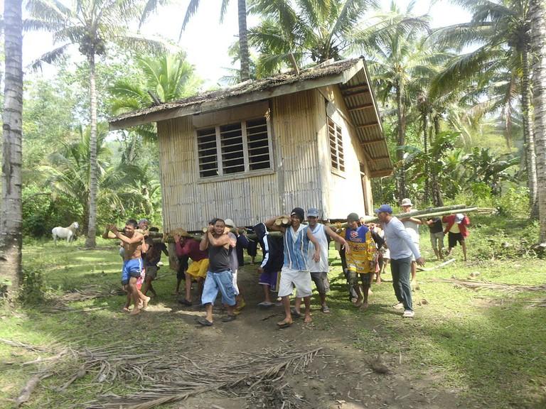 Filipinos' community spirit, or bayanihan