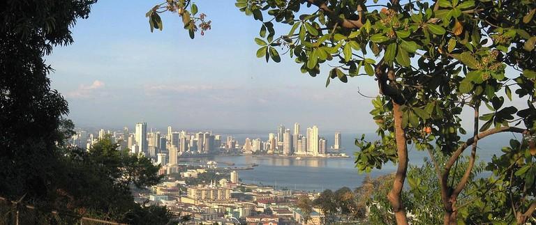 Panama City seen from Cerro Ancón