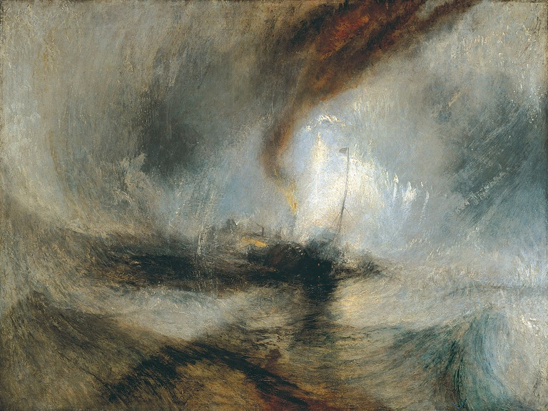 Joseph Mallord William Turner, Snow Storm: Steam-Boat off a Harbour's Mouth, 1842