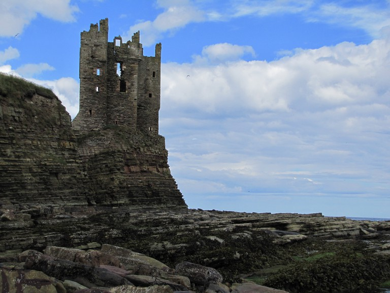 The Old Castle at Keiss