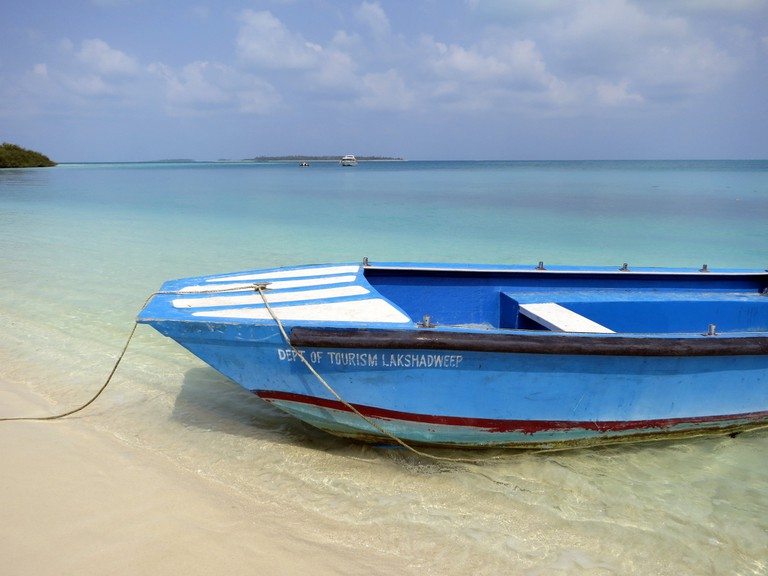 Lakshadweep boasts pristine beaches and fantastic marine life
