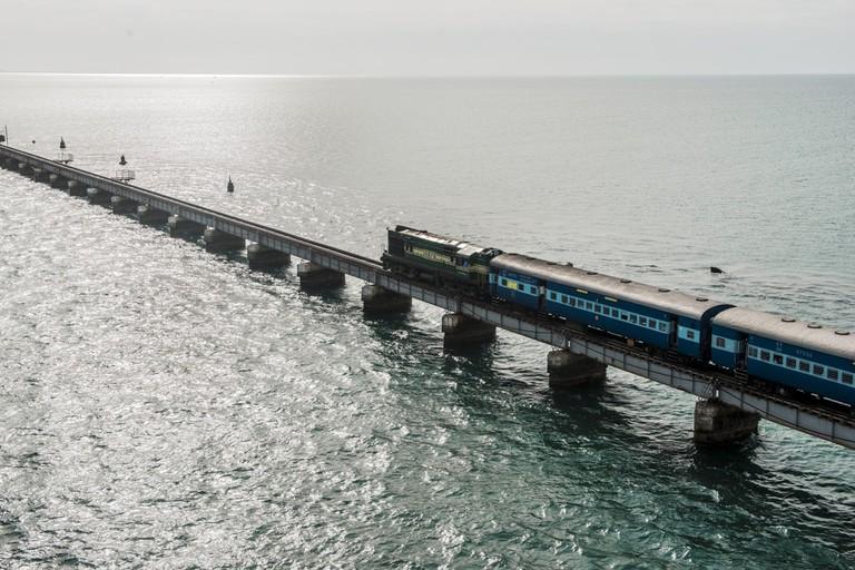 Pampan Railway Bridge