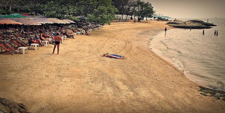 Naklua beach - for a quieter crowd