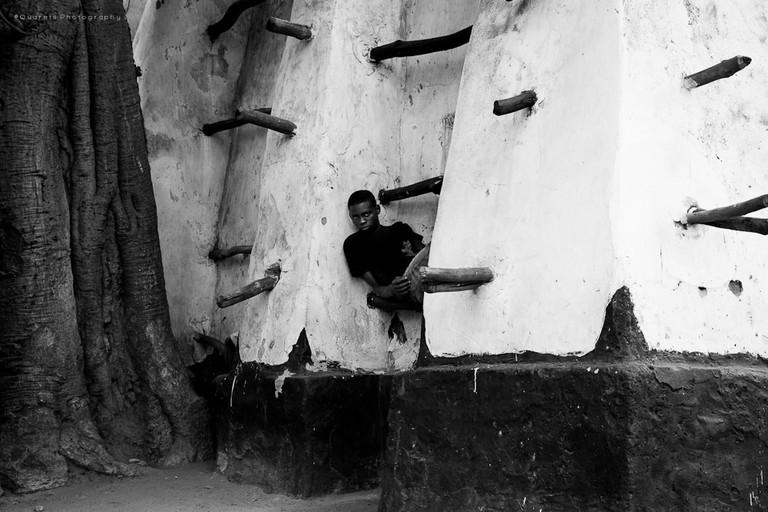 Child relaxing  ©Amokwei Quarshie