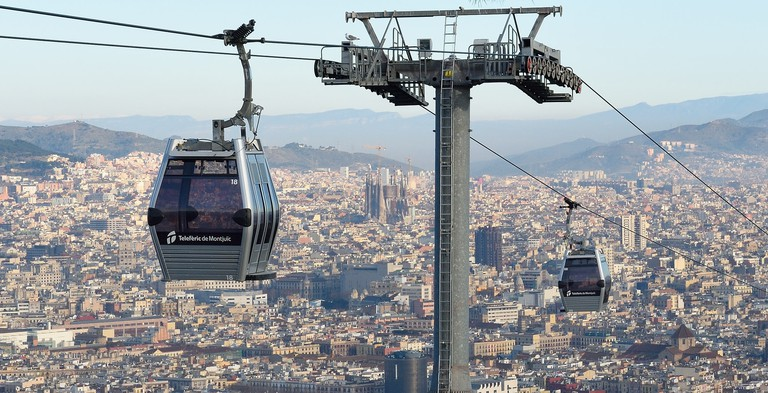 The Montjuïc Cable Car © Tim Adams