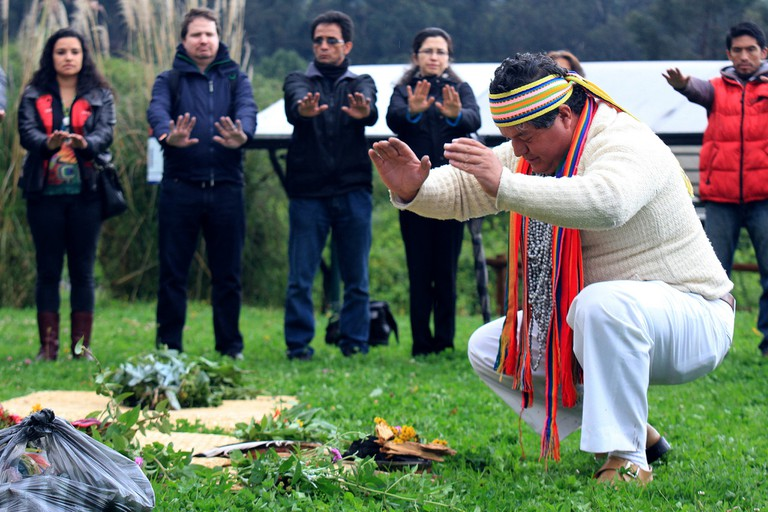 Shamanic Ritual during the Spring Equinox