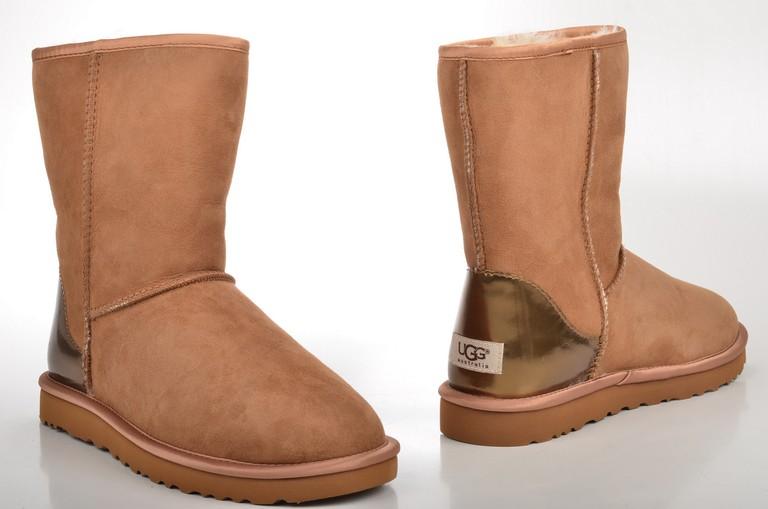 Ugg Australia Classic Short Metallic Patent Boot