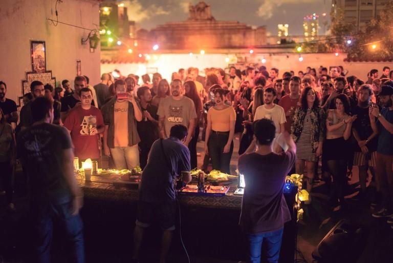 Outdoor clubbing in Buenos Aires