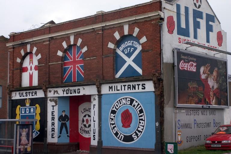 Loyalist Paramilitary Murals on the Shankill