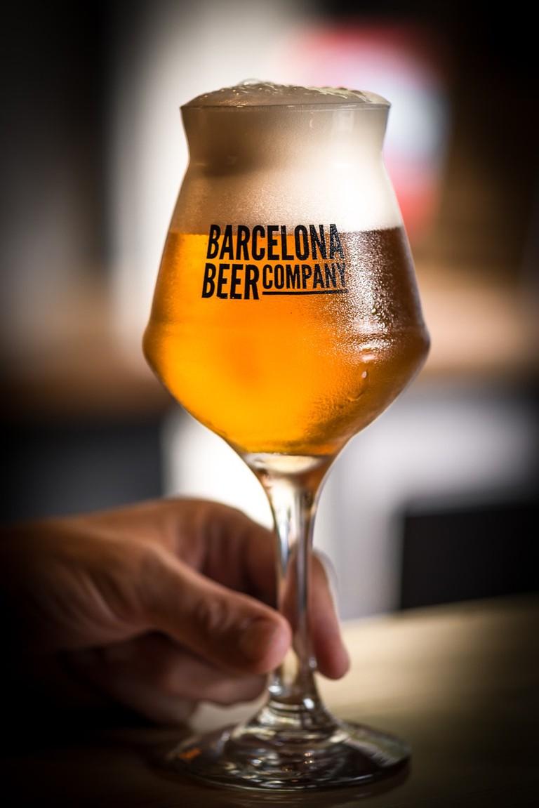 Cheers! Courtesy of Barcelona Beer Company