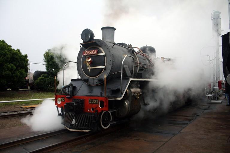 Ceres Rail Company locomotive