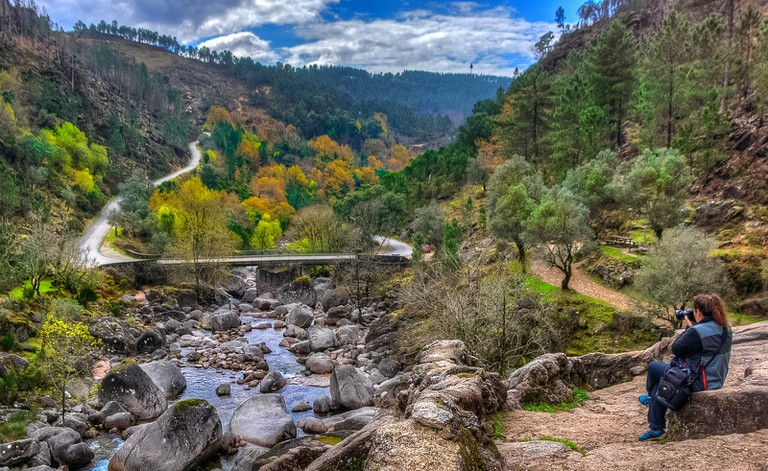 The Peneda-Gerês National Park is picturesque and perfect for birding