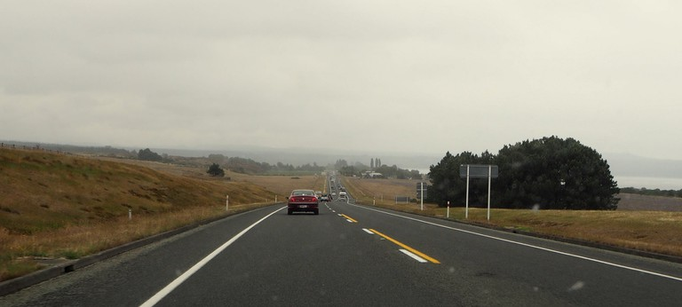 Driving South From Taupo