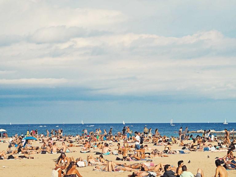 Barcelona beachwear © s s