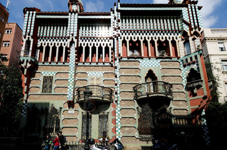 The spectacular Casa Vicens I