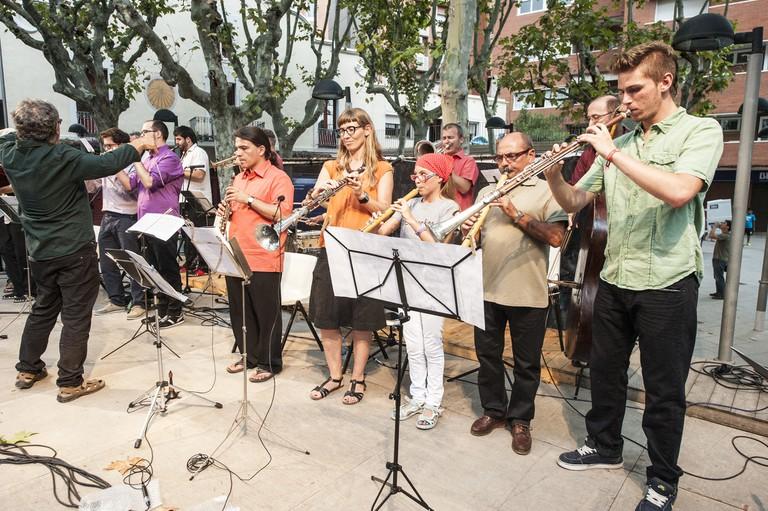 A cobla band © Ajuntament d'Esplugues de Llobregat