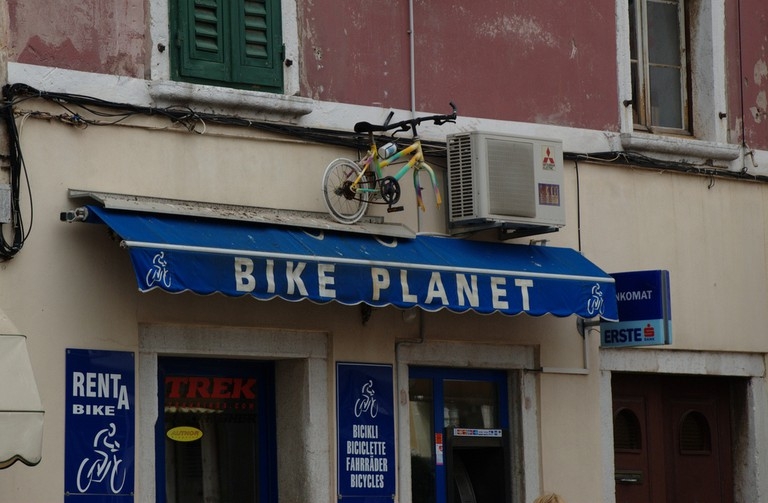 Rovinj bike hire | © Andrey/Flickr
