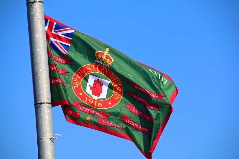 A Loyalist Flag on the Shankill