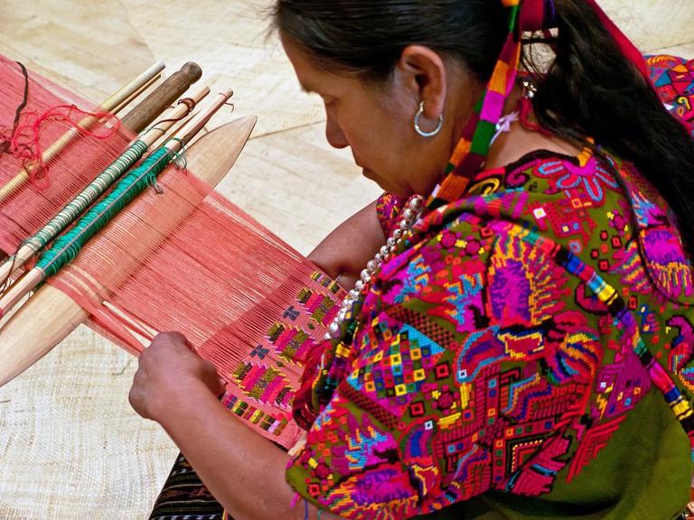 Mayan Weaving