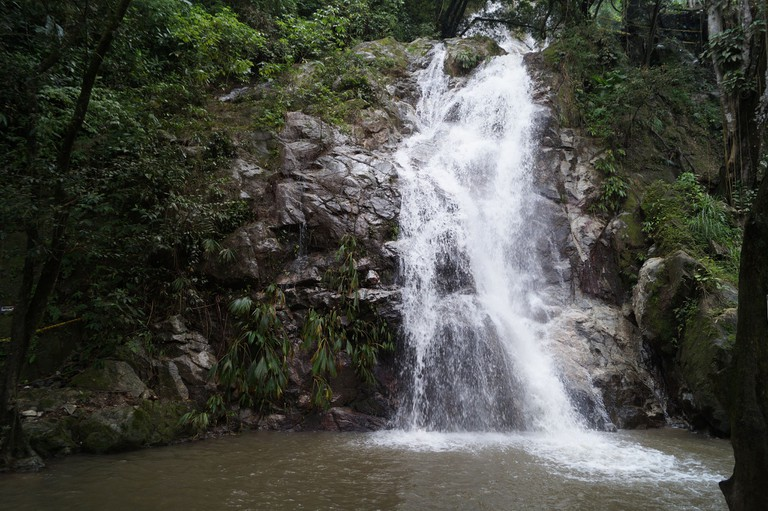 A beautiful waterfall near Minca