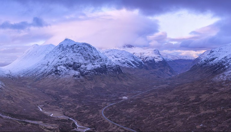 Glencoe In February