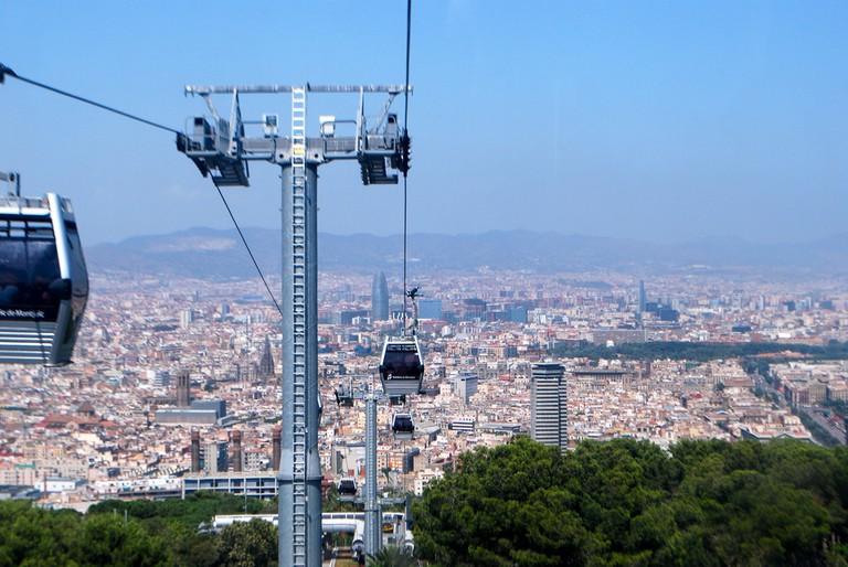 The Montjuïc Telèferic © SteveR-