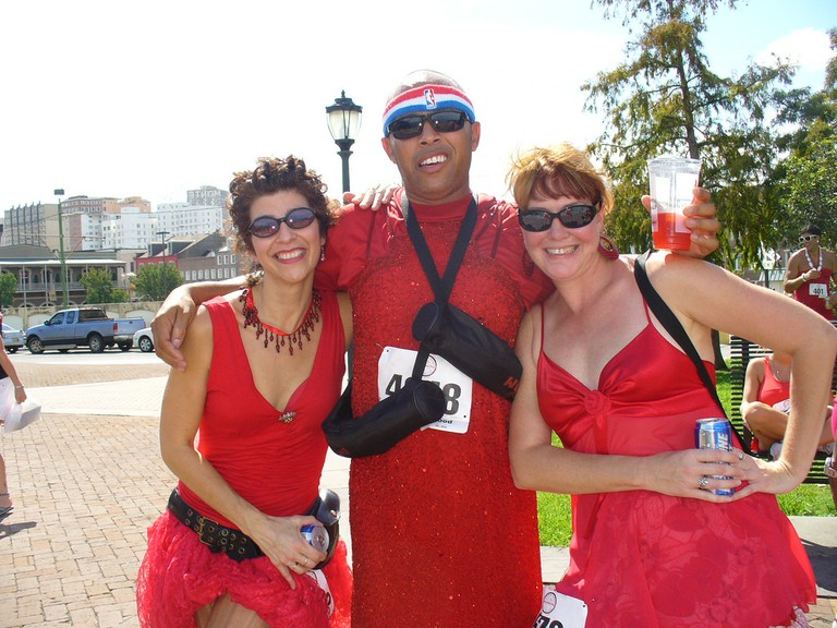 Red Dress Run, 2009, New Orleans
