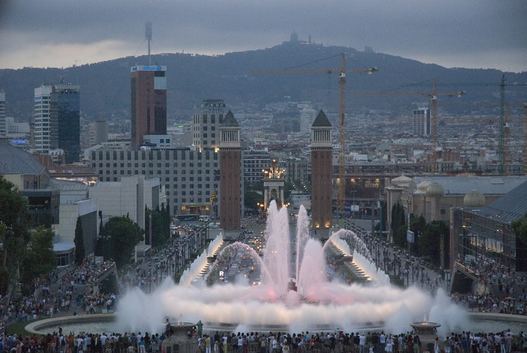 Don't miss the Magic Fountain © Felipe Ortega