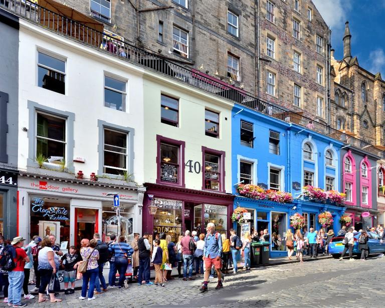 Diagon House at 40 Victoria St, Edinburgh