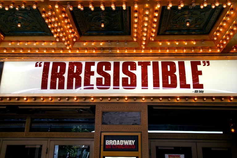Chicago, Ill., downtown, Oriental Theater, Billy Elliot