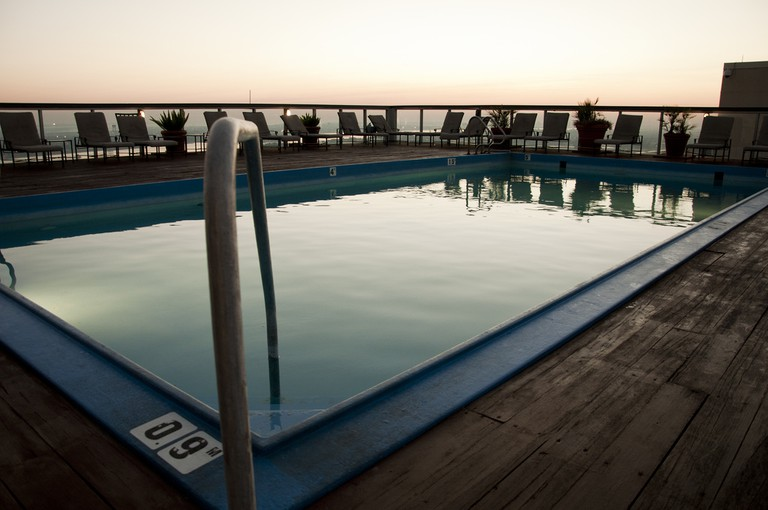 Rooftop Hotel Pool, New Orleans