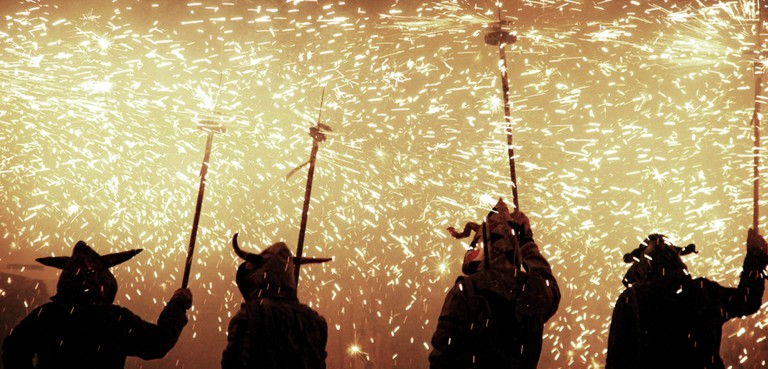 Devils at a correfoc © Jacob Garcia