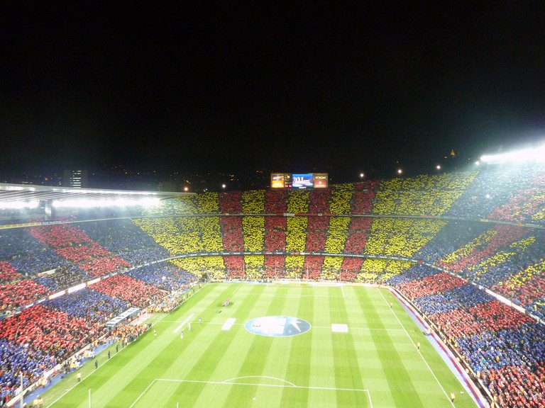 El Clásico at the Camp Nou stadium © Ungry Young Man