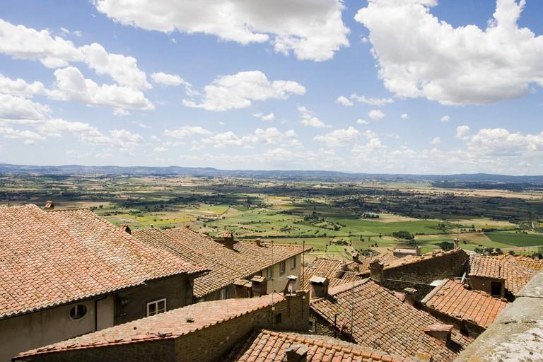 Rooftops of Cortona