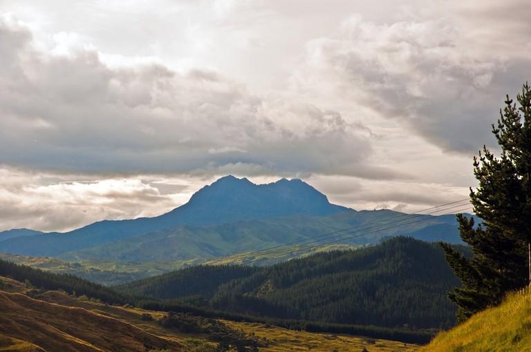 Mt Hikurangi, East Coast, New Zealand