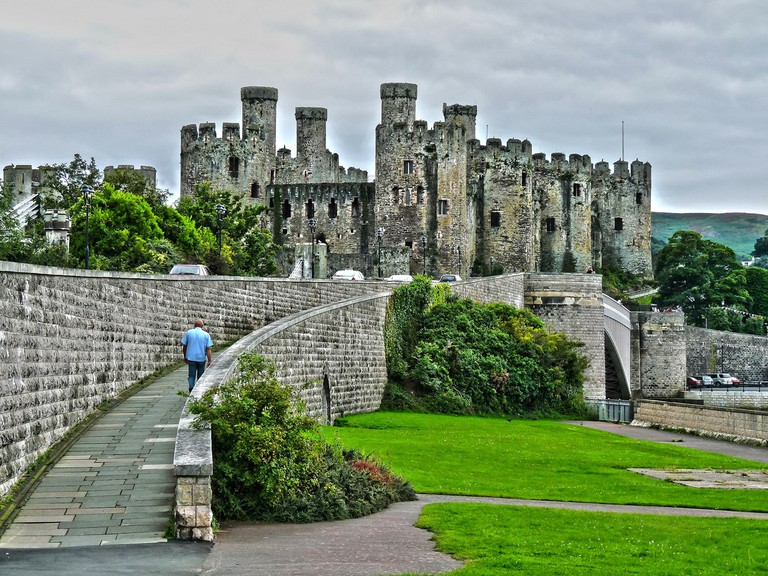 Conwy Castle © Mike Shields