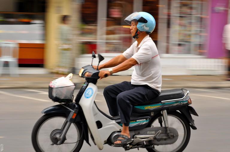 Honda Dream Motorbike