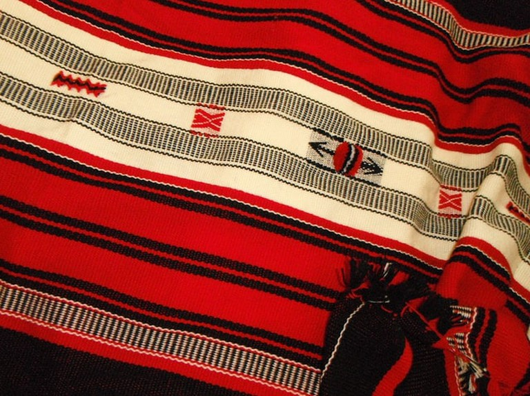 Beautiful Naga shawls