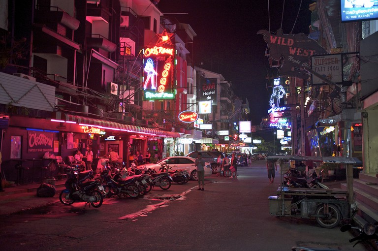 Pattaya – long since a destination for sex tourists