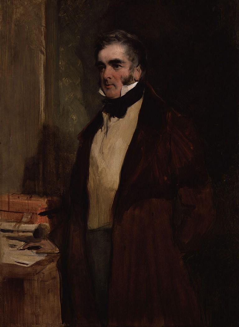 William Lamb, 2nd Viscount Melbourne by Sir Edwin Henry Landseer