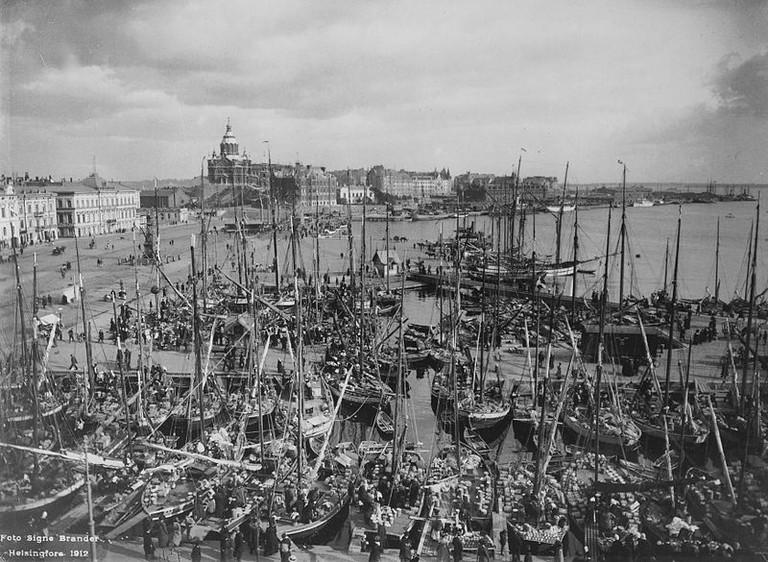 Helsinki south harbour, 1912