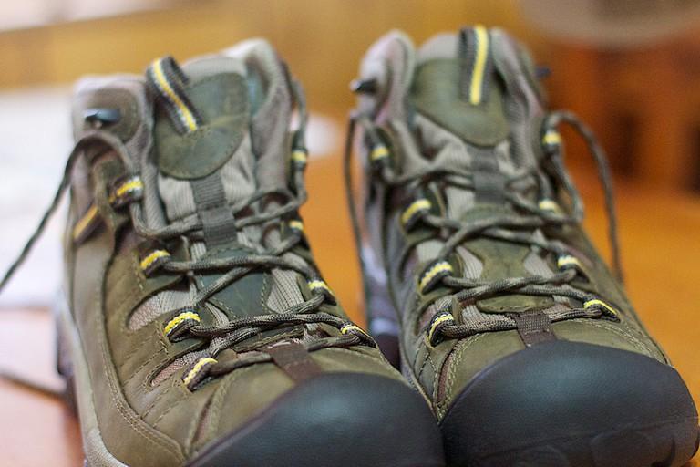 Hiking shoes © Alan Levine