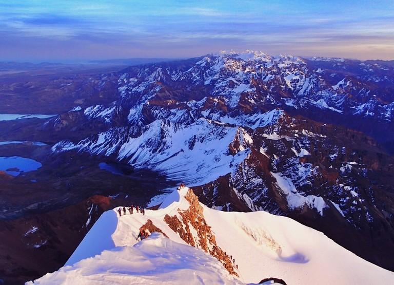 Mt. Huayna Potosi, Bolivia