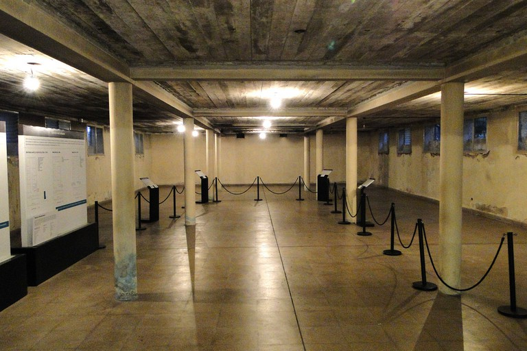 The basement torture room at the ESMA