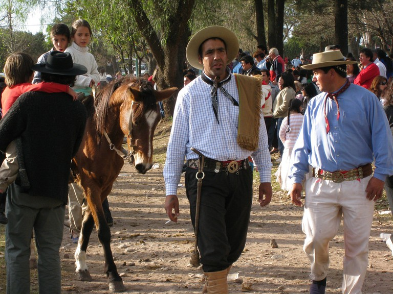Gauchos at the festival in San Antonio